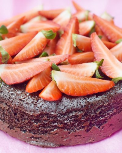 healthy chocolate cotton cake www.fashioneats.es