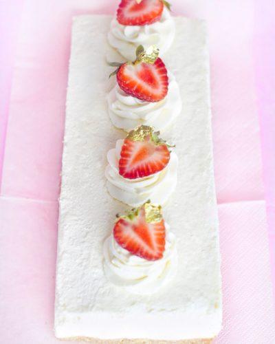 cheesecake de vainilla sin horno www.fashioneats.es