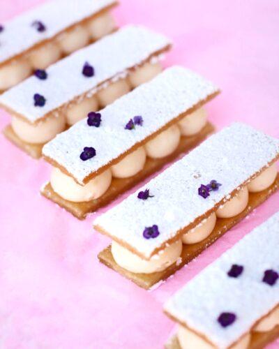 milhojas de crema www.fashioneats.es